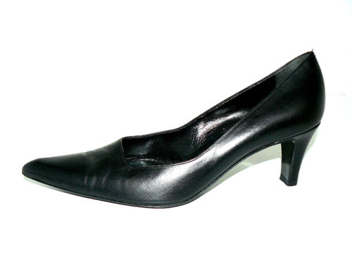 BALLY Pumps High Heels Damen Leder schwarz 37