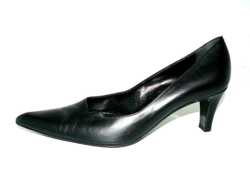 BALLY Pumps High Heels Damen Leder schwarz 37