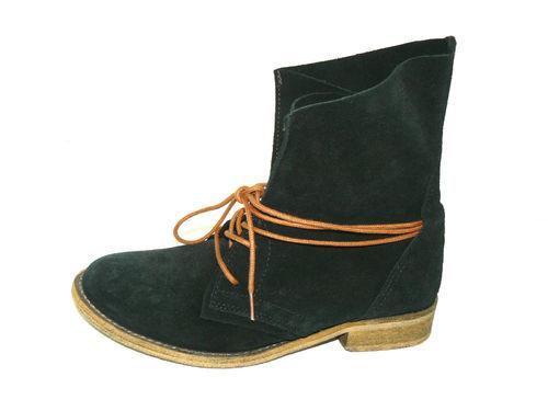 newest collection fe5d8 f42b2 SPM Stiefeletten Boots Damen Wildleder Schnürung schwarz 38