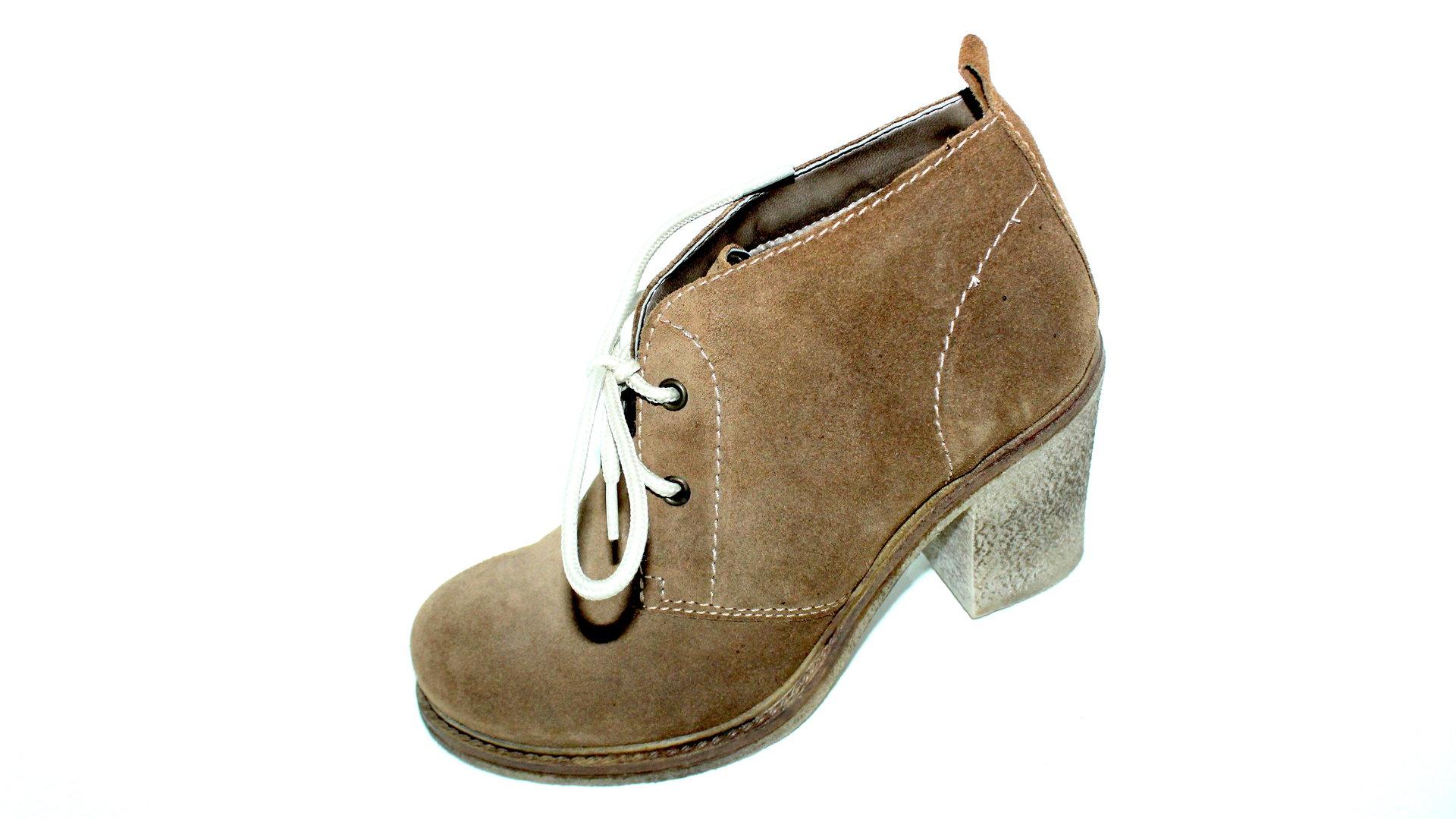 RIEKER Schnür Ankle Boots Stiefeletten braun 39 WwcoY