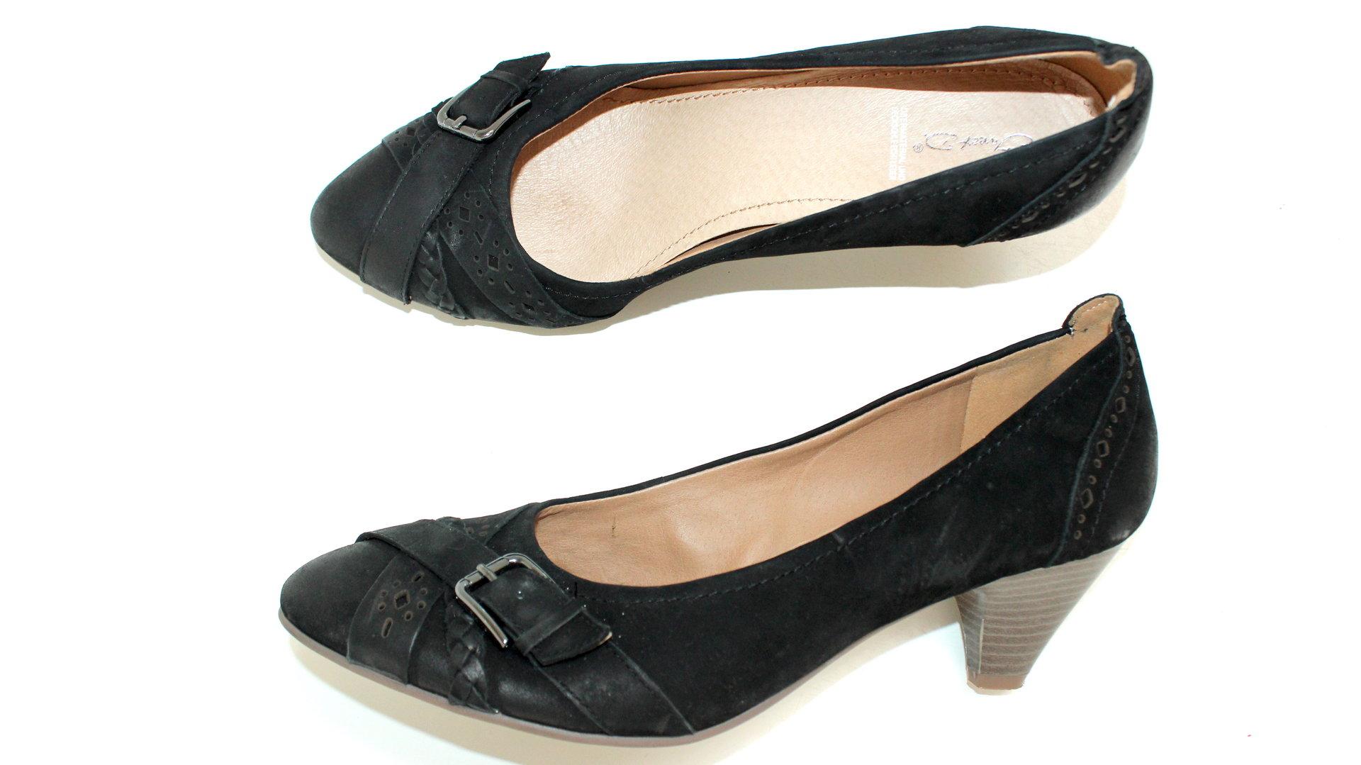 Janet D. Pumps Leder 41 Damen Schuhe