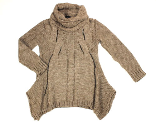 SUKI Woll Strick Pullover 42 44