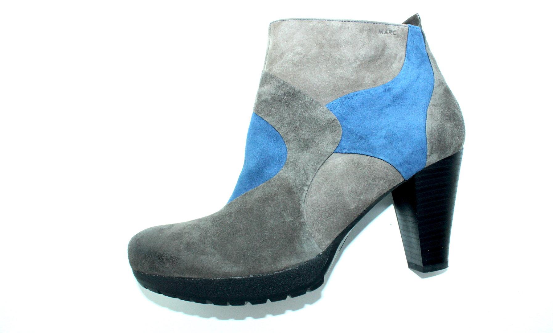new arrival 26f66 494a7 MARC Stiefeletten Ankle Boots Damen Wildleder blau 41