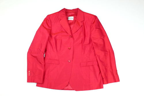 BETTY BARCLAY Seiden Blazer Jacke Damen Business rot 38
