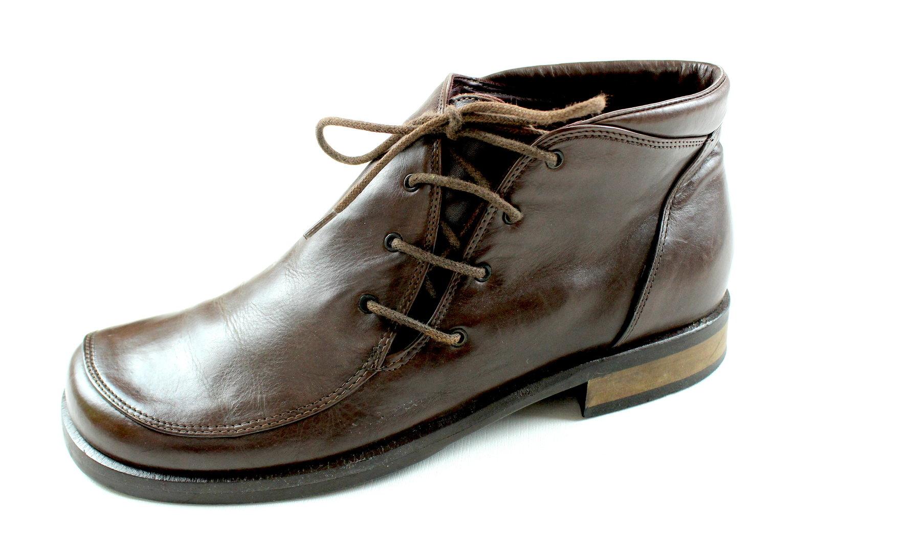 online store 9861a d0451 EVERYBODY Schnür Halb Schuhe Hochfront braun