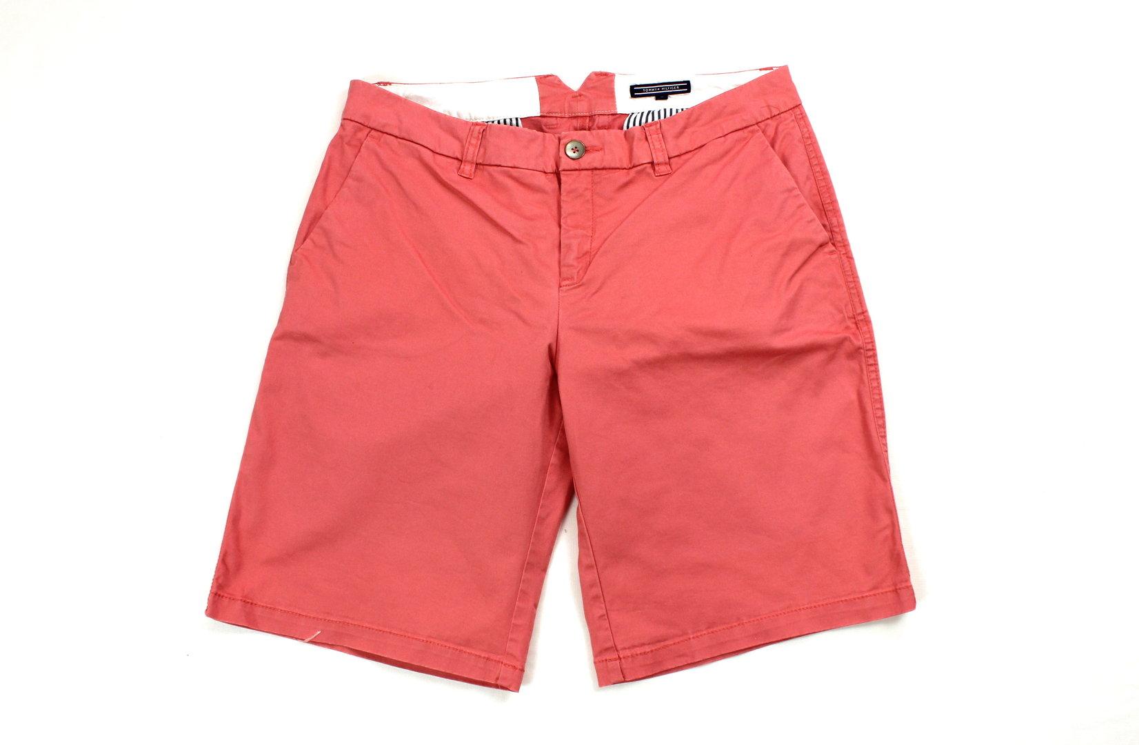 Online kaufen das Neueste Schönheit TOMMY HILFIGER Sommer Shorts kurze Hose Damen rosa 40