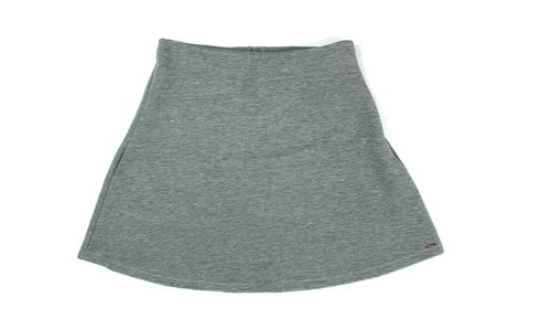 TOM TAILOR Stretch Mini Rock A-Linie grau XL