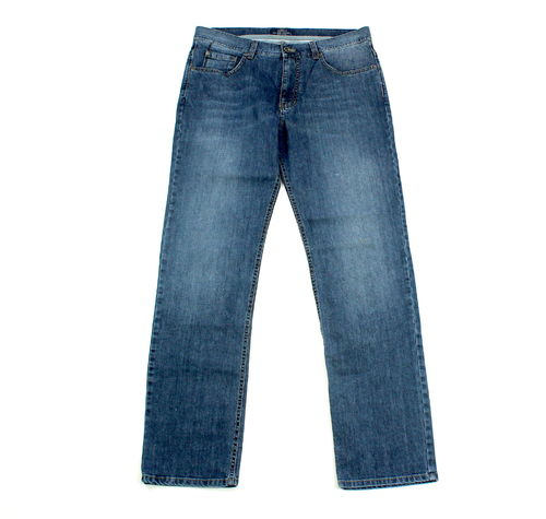 ENGBERS Stretch Jeans Hose blau Five Pocket Denim 50