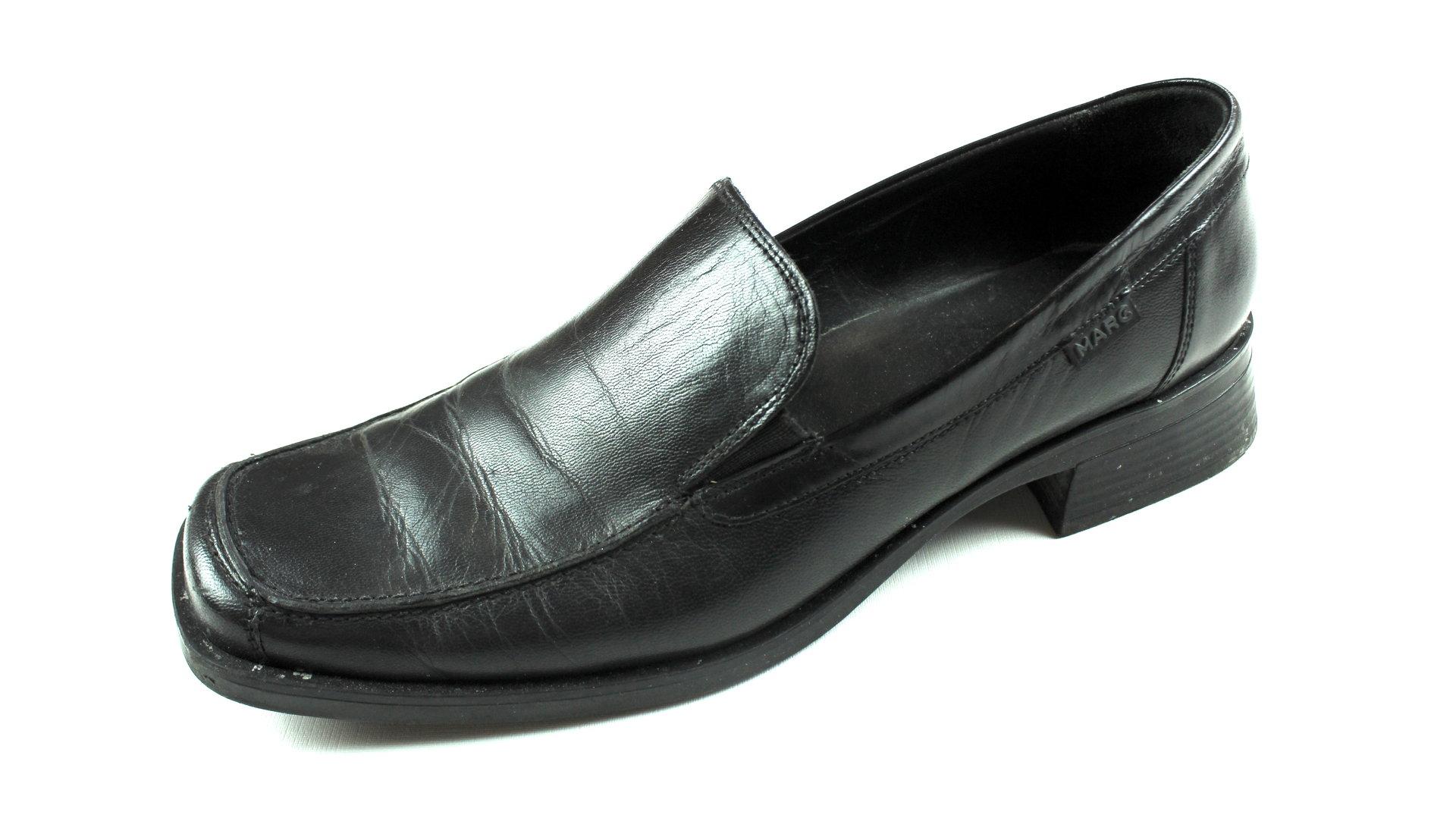 Übergröße Halb Schuhe Schwarz 43 Marc Slipper thdQrs