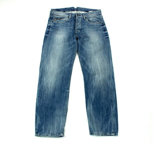 PEPE Jeans JUDO Hose Denim blau destroyed W 27 L 32