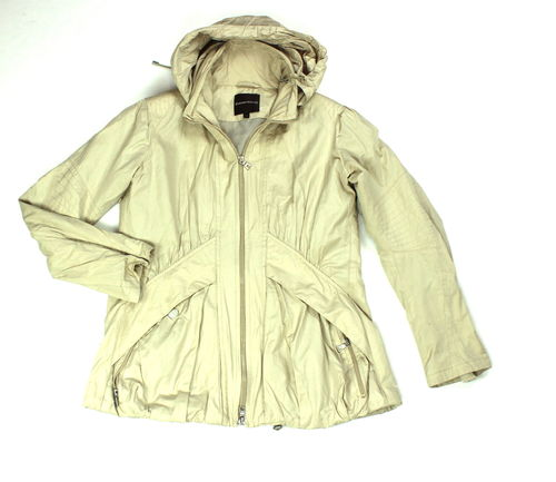 GREENSTONE Sommer Jacke Hooded Zipped beige 44