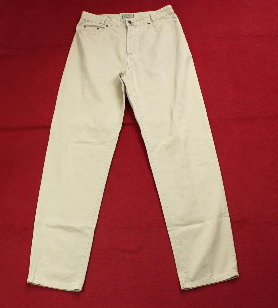 40da7a2f0e11 JOKER Hochbund Jeans Vintage Denim beige 5-Pocket W 32 L 34