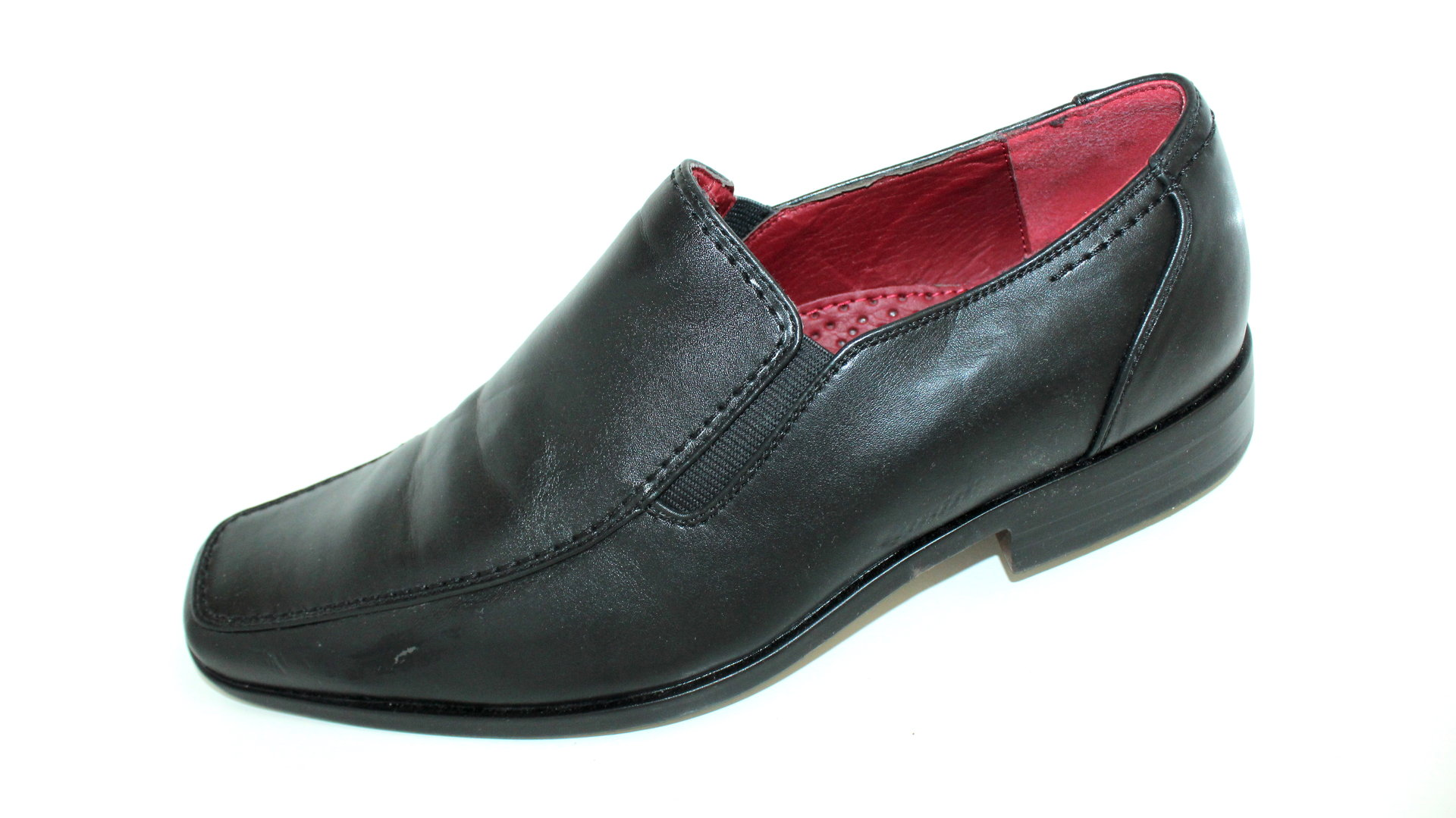 MEMPHIS ONE Business Halb Schuhe Slipper schwarz 43