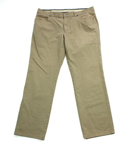 CLUB OF COMFORT Stretch Jeans Hose beige 5-Pocket Nieten 54