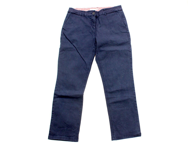BODEN Stretch Jeans Hose Chinos Damen dunkelblau 36