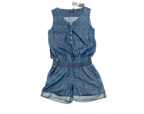 STREET ONE Jump Suit Shorts kurz Damen Jeans Blue 34 36