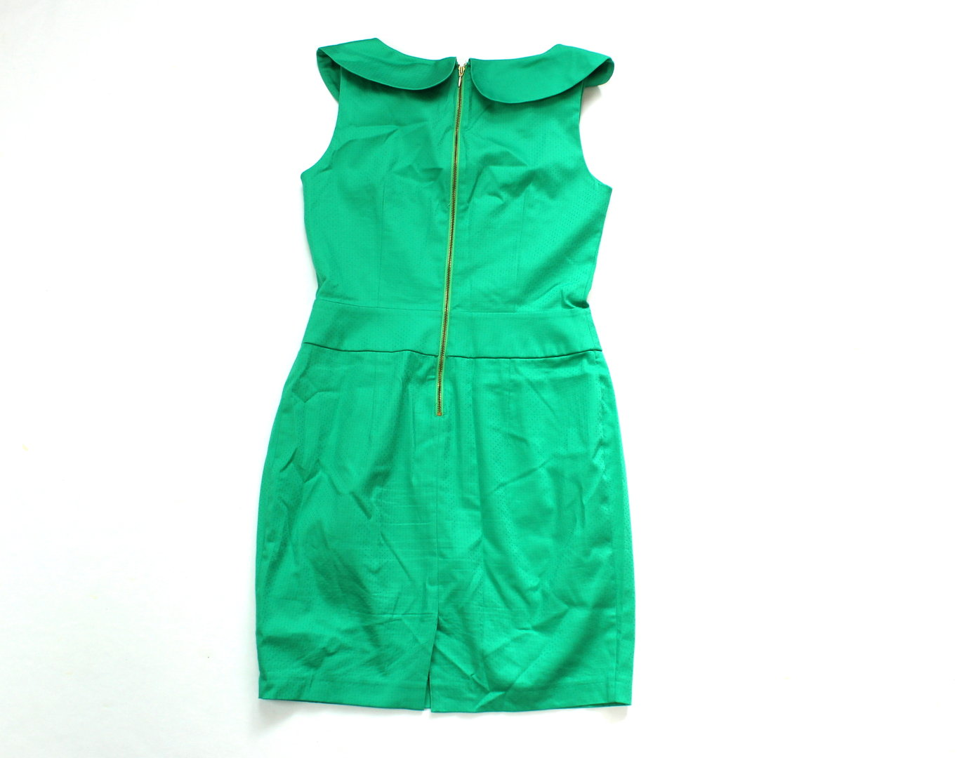 ORSAY Etui Mini Kleid Damen grün Stretch Schleife 16