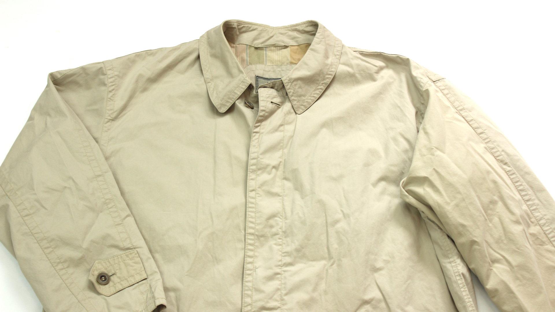 BUGATTI Trenchcoat Sommer Mantel Herren beige 54