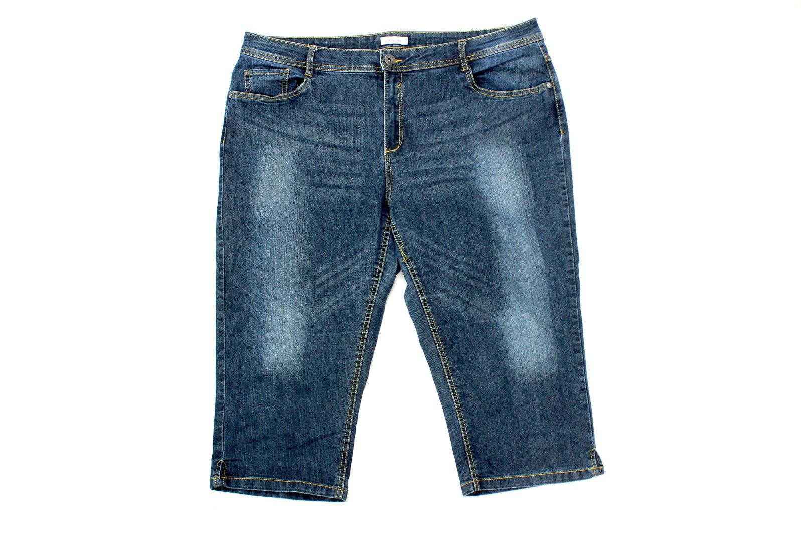 heiß-verkauf echt meistverkauft gut aus x C&A Jeans Bermuda Hose Damen Denim blue Slim 46