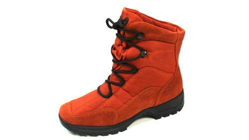 ROHDE Winter Boots Stiefel Schnürer Damen orange 38,5