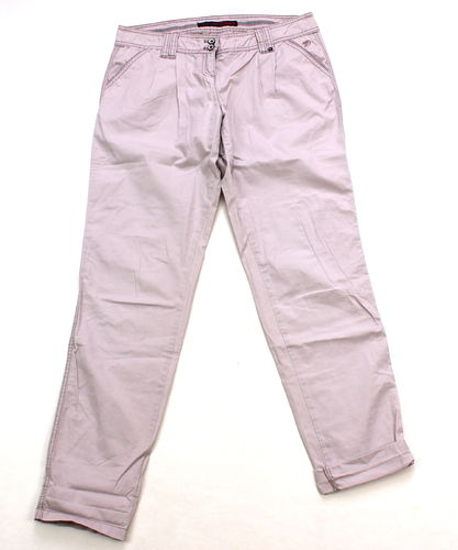 TOM TAILOR Sommer Hose Chinos Damen flieder 38