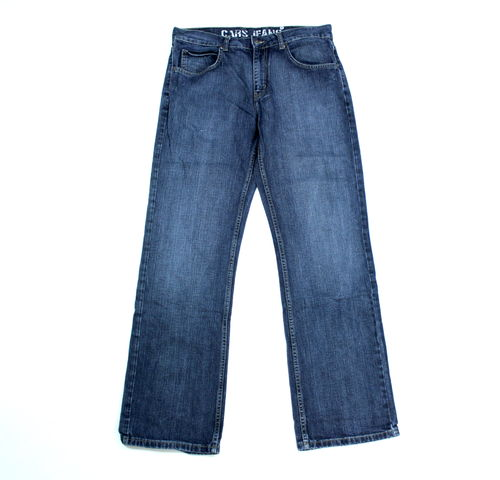 CAR JAENS Hose Herren Denim Dark Blue Regular W 33 L 32
