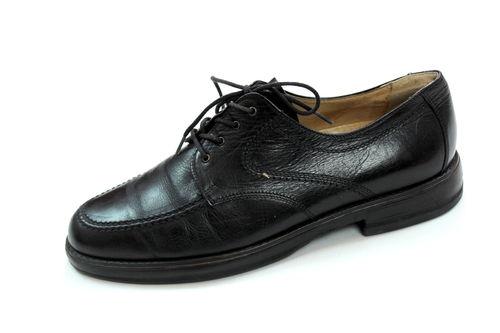 Gallus Schuhe Schnürer Oxford Brogues Herren Leder Gr. 41