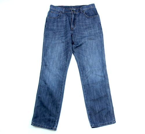WRANGLER Jeans Hose Herren Regular Fit Denim Blue W 34 L 32