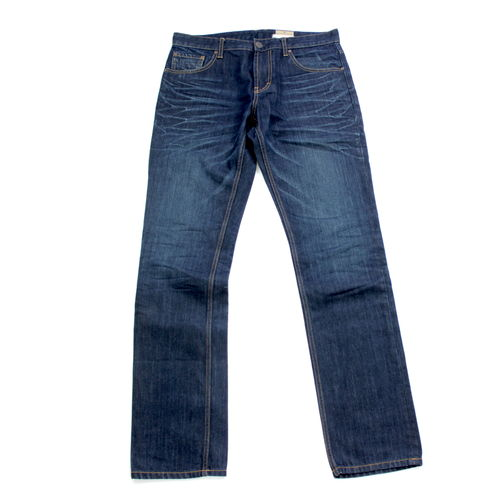 TOM TAILOR Modell Jones Jeans Hose Herren Denim Dark Blue W 33 L 34