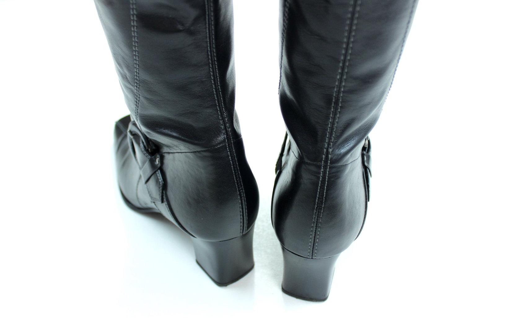 GABOR Schlupf Stiefel Damen Stretch schwarz 39
