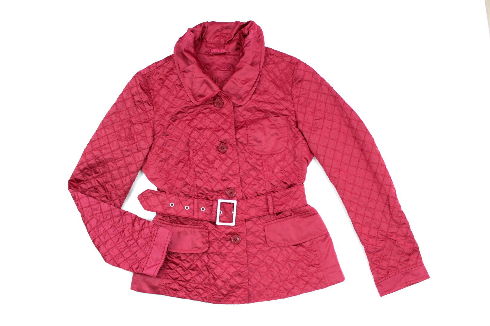 Pink Jacke Damen Blazer Stepp 38 Gürtel Biba Dunkel QtdChxsr