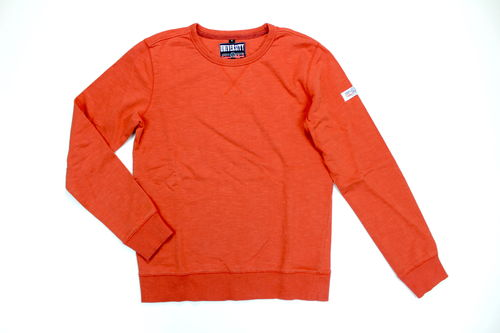 CAMARGUE Sweat Pullover Herren orange Langarm M