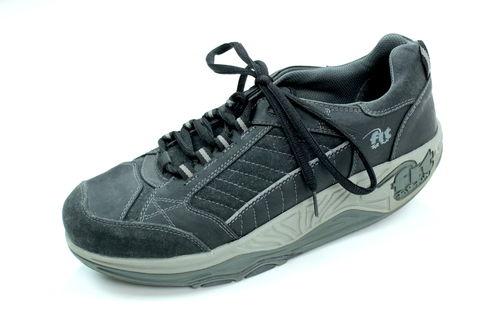 Details zu Memphis One Herren Halb Schuhe Sneaker Sommer Schwarz Gr. 43 TOP