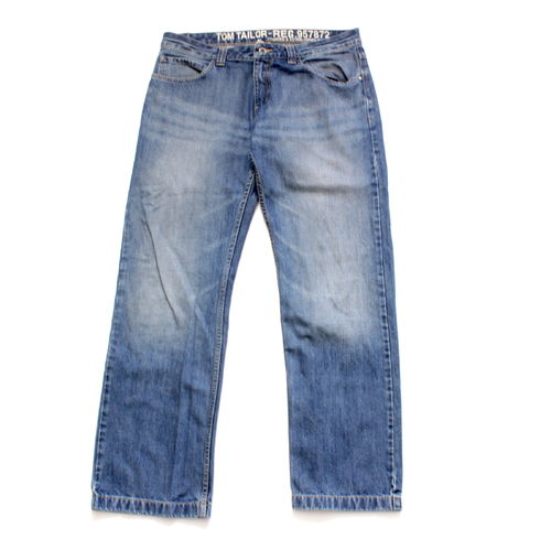 TOM TAILOR BRAD Jeans Hose Herren Denim Blue W 36 L 34