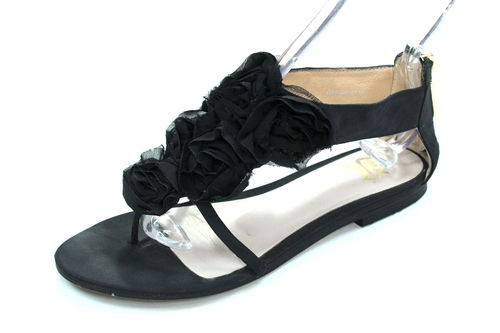 SEX AND THE CITY Zehentrenner Sandalen Damen schwarz 37