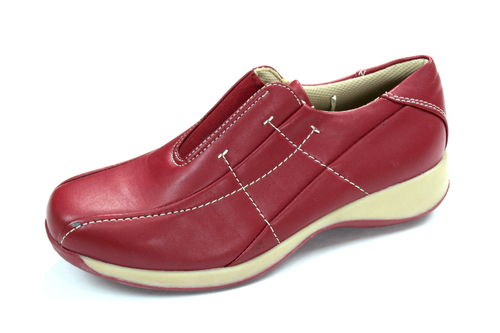 BETTY MAY Slipper Halbschuhe Damen rot 39