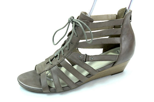 5TH AVENUE Gladiator Römer Sandalen Hochfront nougat 42