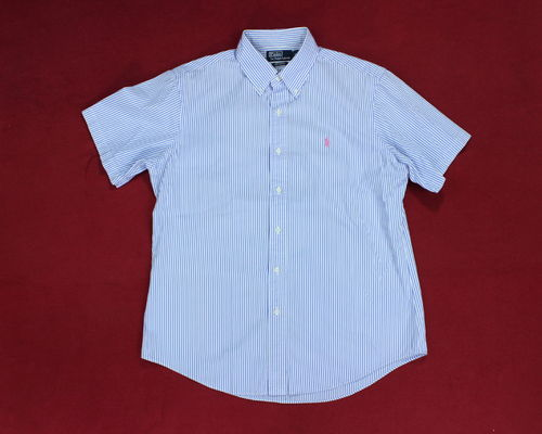 POLO RALPH LAUREN Anzughemd Sommer Button Down L