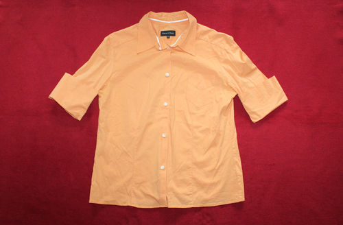 MARC O´POLO Sommer Bluse Damen Kurzarm orange 40