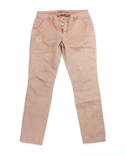 STREET ONE Slim Jeans Hose Damen Denim apricot 38