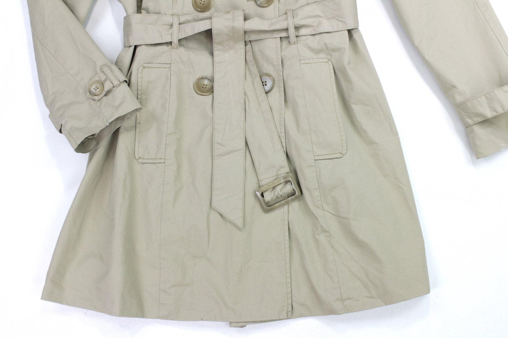 c&a trenchcoat kurz mantel damen business beige 42