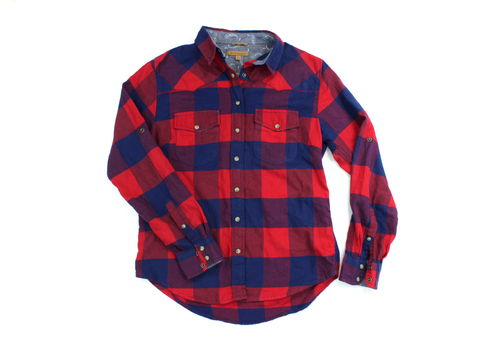 JACKS GIRLFRIEND BEA Flanell Bluse Damen Winter S
