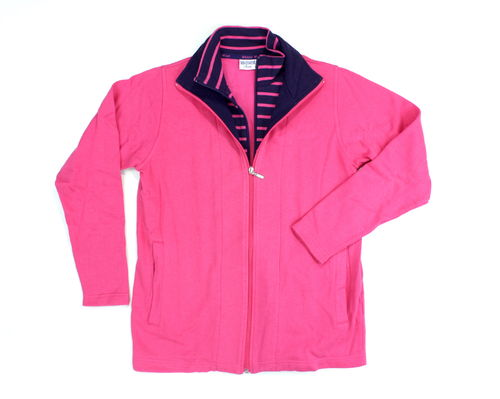 WIND Sweat Jacke Damen Sport Segeln pink 38 40
