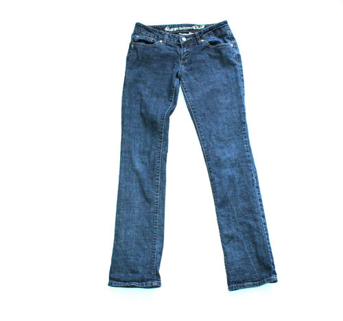 STREET ONE Stretch Jeans Hose Damen Denim blau Slim W 29