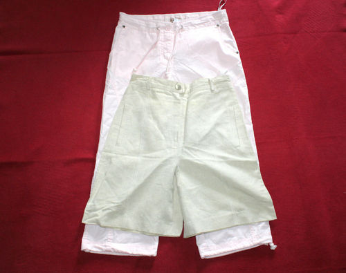 MONARI CASUAL WEAR 2 Sommer Hosen Damen Capri Shorty S