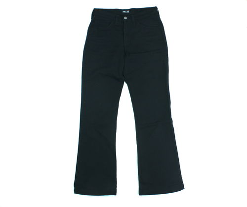 HIS Bootcut Jeans Hose Damen Denim Stretch schwarz 36