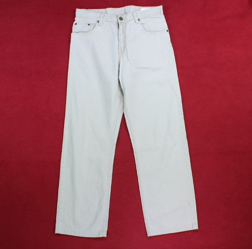WRANGLER Jeans Hose Denim hellbeige Five Pocket W 33 L 30