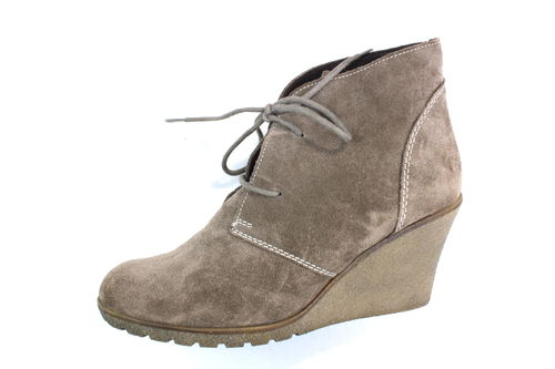 HOT ICE Ankle Boots Wedges Stiefeletten Damen beige 40